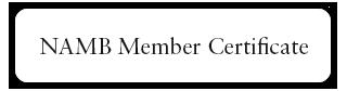 NAMB Member Cert